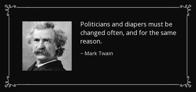 MarkTwain_PoliticiansandDiapers